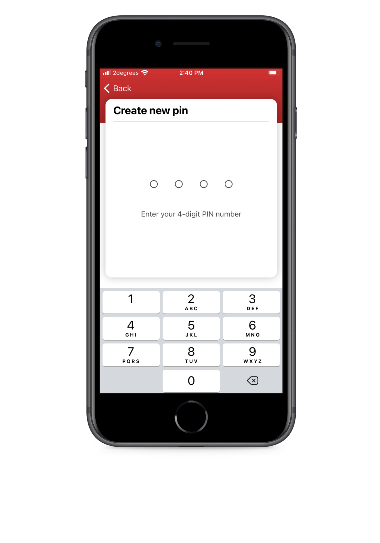 'Create new pin' page of the Snapper iOS app